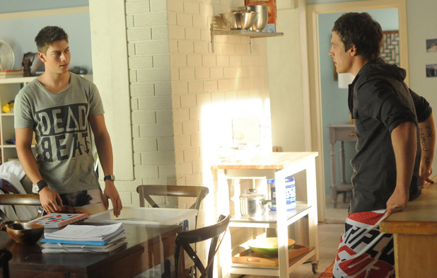 Brax tries to help Casey.