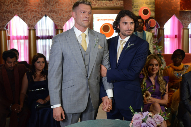 EastEnders, Syed and Christian get married, Tue 16 Oct 2012