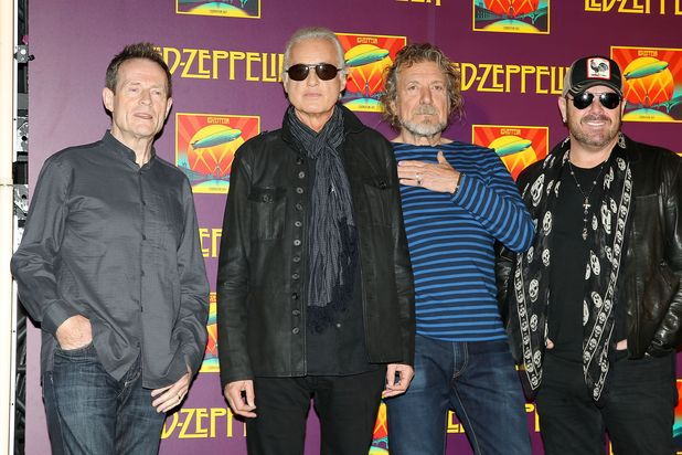 Led Zeppelin &#39;Celebration Day&#39; film premiere, New York, America - 09 Oct 2012