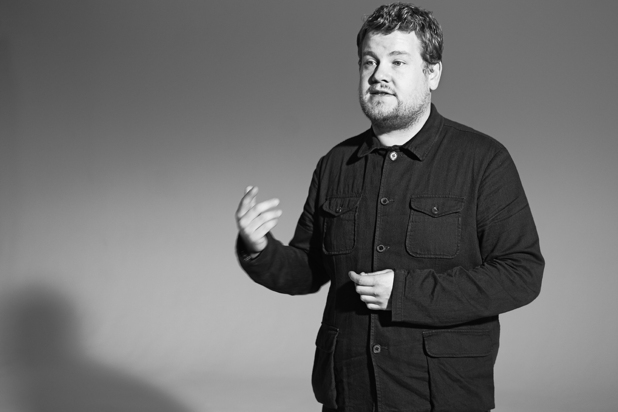 James Corden behind the scenes of Sightsavers