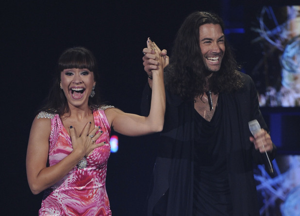 Ace Young and Diana DeGarmo, American Idol proposal - May 2012