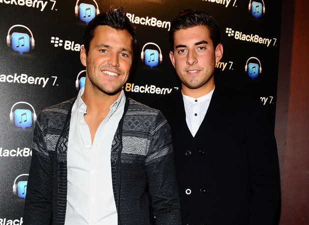 "Mark Wright and James ""Arg"" Argent"