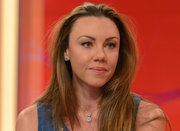 Michelle Heaton on ITV1's Lorraine 09.10.12