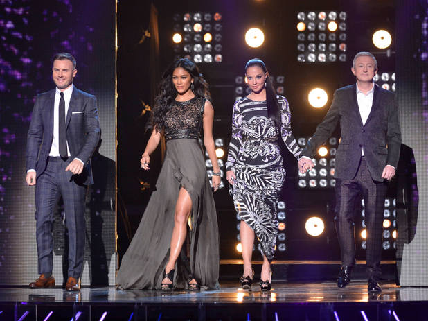 The X Factor Results Show: The Judges