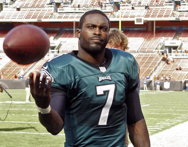 NFL quarterback Michael Vick