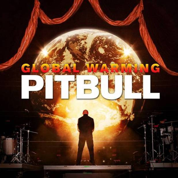 Pitbull &#39;Global Warming&#39; album artwork.