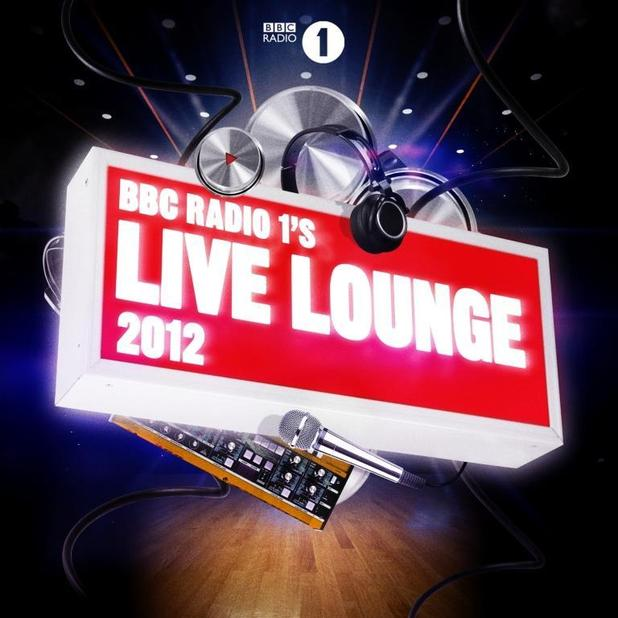 Radio 1's Live Lounge 2012 album artwork.