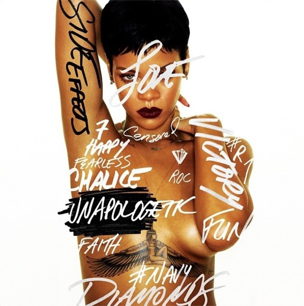 Rihanna 'Side Effects' album artwork.