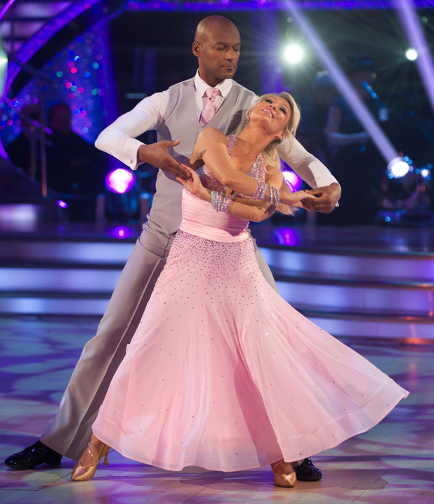 Strictly Come Dancing Week 2: Colin and Kristina