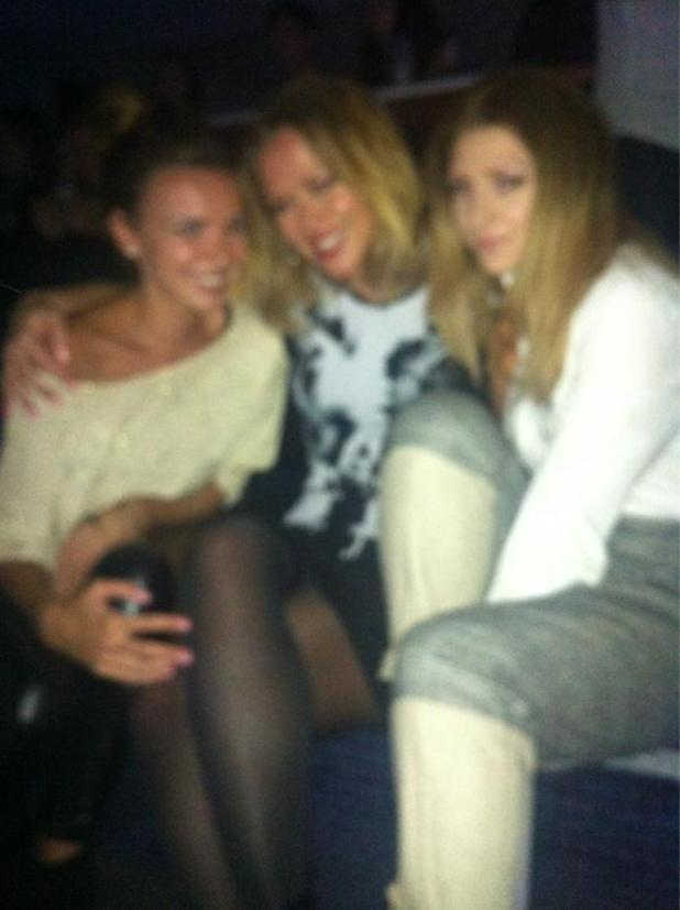 Nadine Coyle, Kimberley Walsh, Nicola Roberts of Girls Aloud