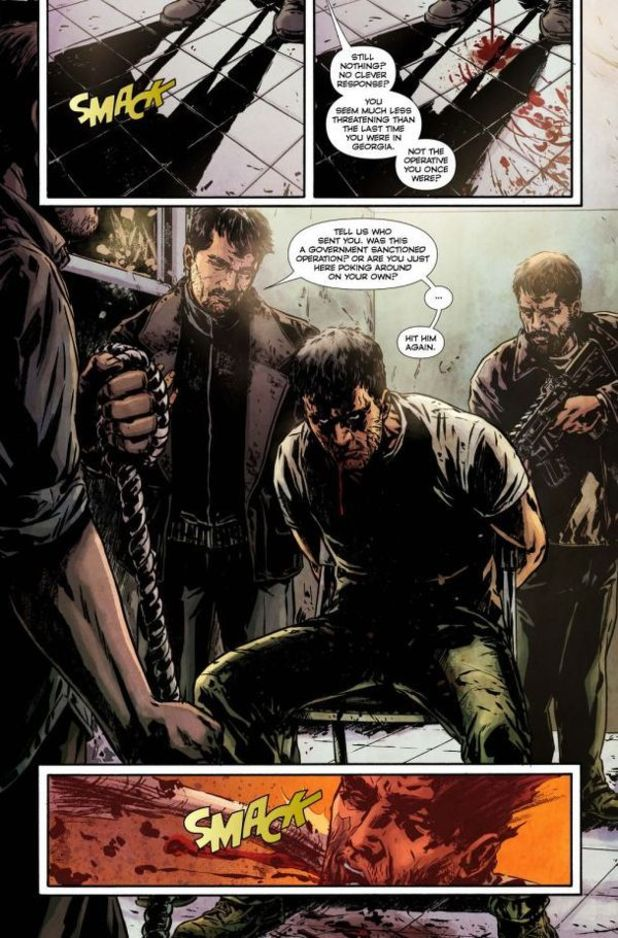 Splinter Cell: Echoes comic
