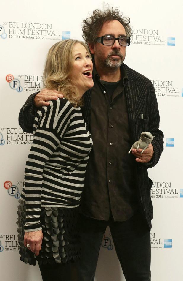 Frankenweenie Premiere: Catherine O'Hara and Tim Burton