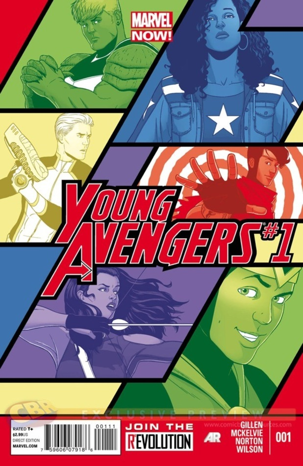 Marvel NOW! 'Young Avengers' #1 cover