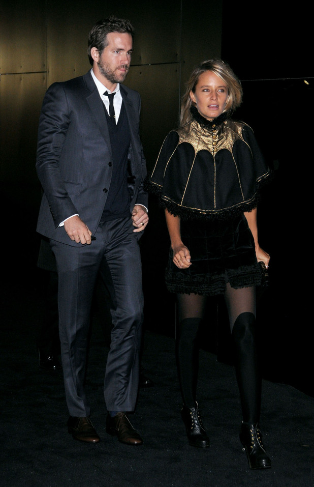 Ryan Reynoldsarrives at the celebration of Chanel Fine Jewelry's 80th anniversary