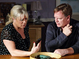Sharon is unsettled by a text she receives from Ben.