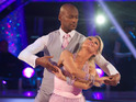 Actor blames his height difference with Kristina Rihanoff for early exit.