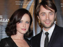 Elisabeth Moss and Alison Brie offer their congratulations to the couple.