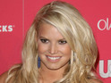 "Jessica Simpson jokes that pregnant women should be able to ""eat a doughnut""."