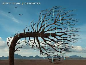 Biffy Clyro 'Opposites' album artwork.