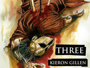 Kieron Gillen brings 'Three' to Image Comics