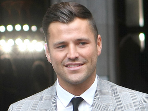 Mark Wright The Look fashion show in association with Smashbox cosmetics held at the Royal Courts of Justice - Outside Arrivals London, England - 06.10.12 Credit: (Mandatory): WENN.com