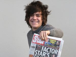 Frankie Cocozza, X Factor 2011