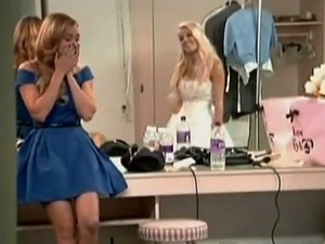 The Hills - Heidi Montag and Lauren Conrad at wedding