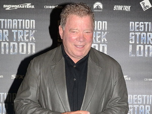 William Shatner at the photocall for 'Destination Star Trek London' at the ExCel Centre.