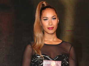 Leona Lewis signs copies of her album 'Glassheart' at HMV Oxford Street London, England