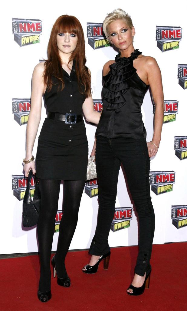Nicola Roberts, Sarah Harding, NME Awards