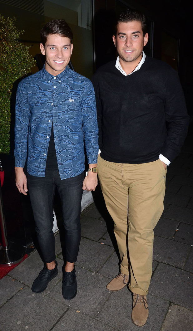 James Argent And Joey Essex, at the Love Perfume Awards 2012. London, England - 18.10.12 Mandatory Credit: Chris Saxon/WENN.com
