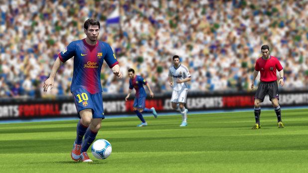 FIFA 13 screenshots for Wii U