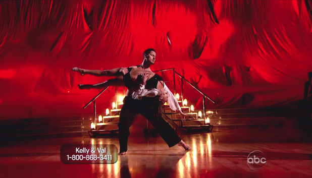 Dancing WIth The Stars S15E07: Kelly Monaco and Val Chmerkovskiy 