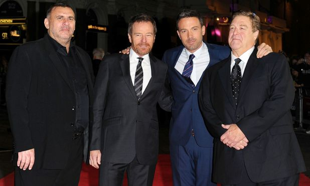 Graham King, Bryan Cranston, Ben Affleck and John Goodmam
