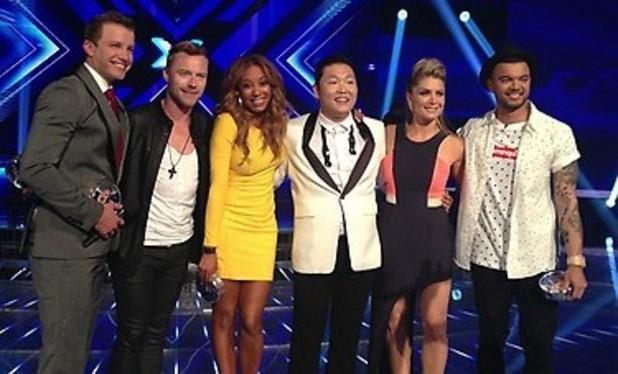 Australian X Factor - Mel B, Ronan Keating, Psy