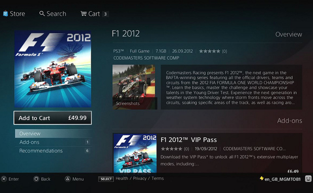 F1 2012 overview