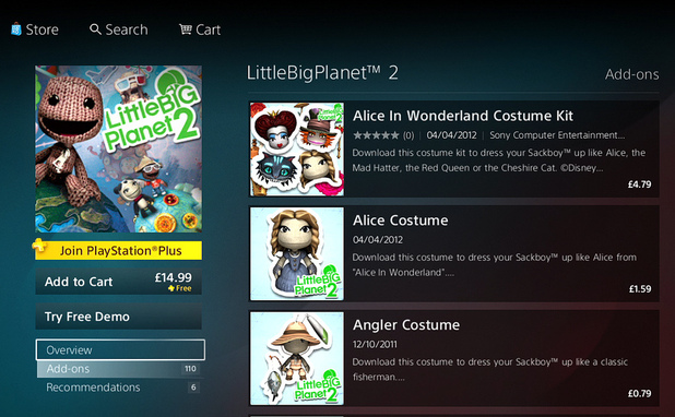 LittleBigPlanet 2 add-ons
