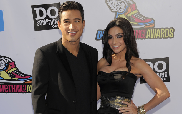 Mario Lopez, Courtney Mazza
