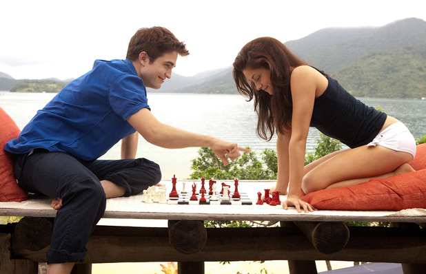 Kristen Stewart and Robert Pattinson star in 'The Twilight Saga: Breaking Dawn - Part 2' USA - 2012 **Available for publication in the UK & USA only. Not for publication in the rest of the world** Credit: WENN.com