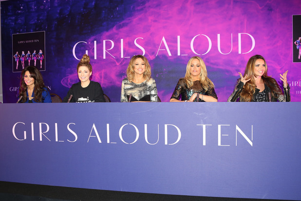 Girls Aloud announce comeback