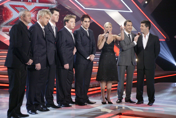 Steve Brookstein, G4, Kate Thornton, Simon Cowell, X Factor