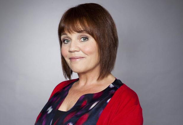 Lesley Dunlop as Brenda Walker in Emmerdale