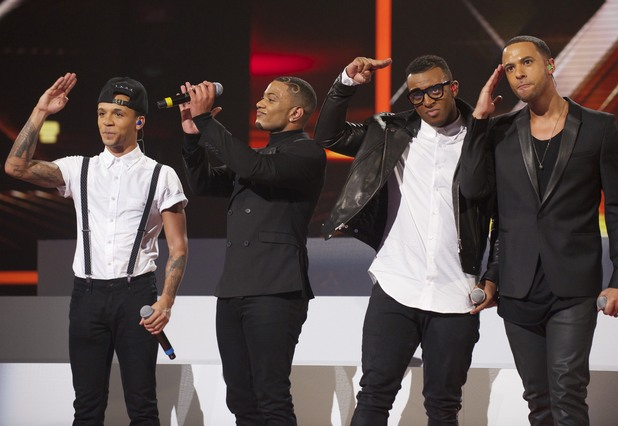 The X Factor Results Show: JLS perform