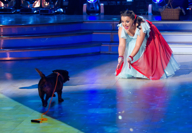 Strictly Come Dancing: Dani makes friends with ToTo
