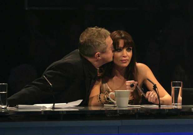 Louis Walsh and Dannii Minogue