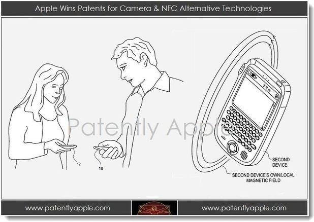 Apple secures patent for NFC alternative technology