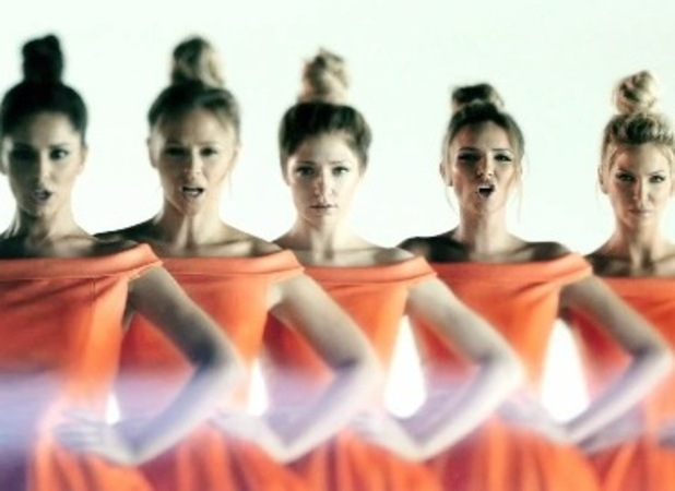 Girls Aloud new video, Something New