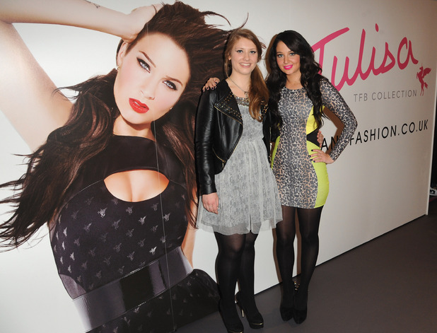 Tulisa opens 'TFB by Tulisa' pop-up shop at Westfield