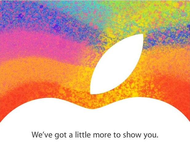 Apple iPad Mini launch invite
