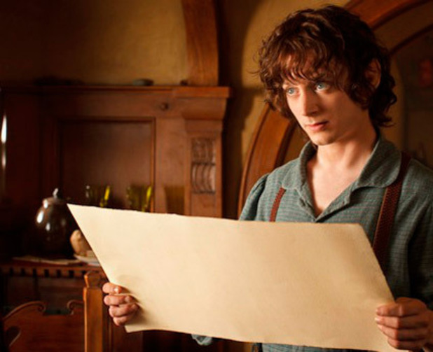 Elijah Wood as Frodo Baggins in 'The Hobbit: An Unexpected Journey'